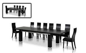 maxi modern dark oak dining table oak dining table dining room