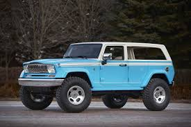 jeep dark blue 7 totally unique jeep concepts from macho rock crawlers to retro
