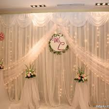 wedding backdrop to buy wedding stage decoration with curtains stage decorationstage