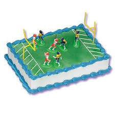 football cake decorating kit topper kitchen