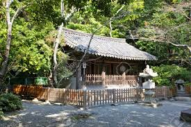 traditional japanese house in garden stock photo picture and