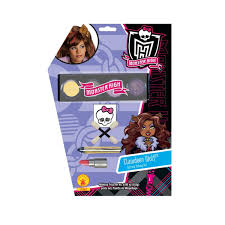 monster high clawdeen wolf makeup kit child buycostumes com