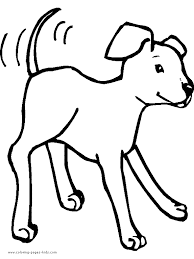 dog clipart color collection