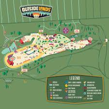 Festival Map Festival Map Outside Lands 2016 Outsidelands Pinterest