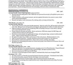 Sample Resume Accounts Payable by Download Account Payable Clerk Sample Resume