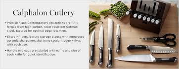 calphalon knives williams sonoma
