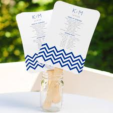 Fan Style Wedding Programs Fan Favors Wedding Fan Programs