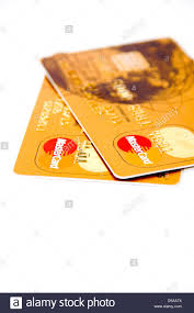 pre pay card cashplus pre pay gold credit cards stock photo royalty free image