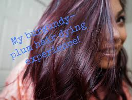 age beautiful hair color reviews my burgundy plum hair dye experience youtube