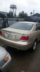 toyota camry 06 for sale toyota camry 2006 gold for sale in port harcourt buy cars from