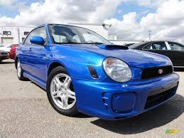 2002 wr blue pearl subaru impreza wrx sedan 62595977 gtcarlot