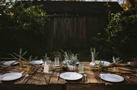 Backyards Ideas On A Budget 14 Ideas For Dressing Your Thanksgiving Table On A Budget