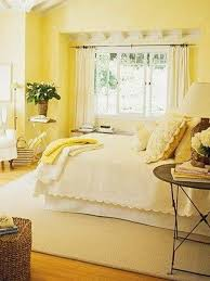 Yellow Walls What Colour Curtains Therapy Bedroom Colours Bedroom Inspiration 16781