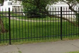 ornamental iron fence pictures bakken fence