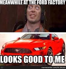 Ford Mustang Memes - new ford mustang by 91 bruno meme center