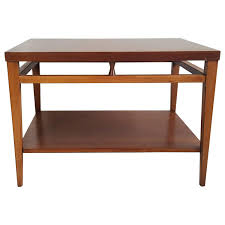 lane mid century modern coffee table pair of mid century end tables and coffee table by andre bus for