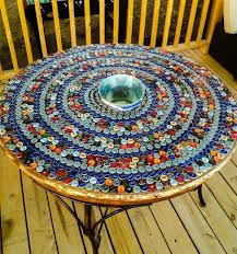beer cap table top 6149809ae2e40ea182800a824371f8b9 jpg 597 640 pixels cool stuff