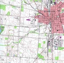 Ohio City Map Ohio Maps Perry Castañeda Map Collection Ut Library Online