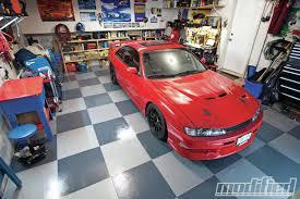 Home Garage Workshop G Floor Raceday Tiles Modified Magazine
