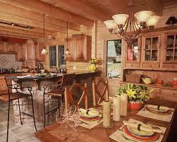 Log Home Kitchens Ward Cedar Log Homes Design Limited