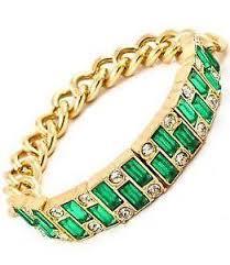 emerald bracelet white gold images Emerald bracelet ebay JPG