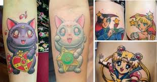 the 16 best sailor moon tattoos you ve seen