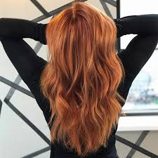 orange spice color we re falling for pumpkin spice hair color wella stories