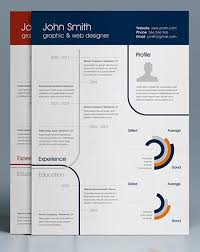 Free One Page Resume Template 25 Infographic Resume Templates Free U0026 Premium Collection