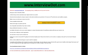 Tips How To Post Your Resume In A Job Site Online Youtube