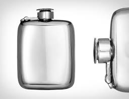 his and flasks wentworth pewter flask gear patrol