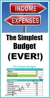 How To Make Budget Spreadsheet How To Make A Simple Budget