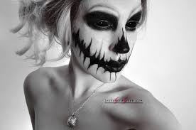 25 black sclera contacts halloween makeup looks the fast fashion