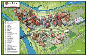 Harvard Campus Map Carleton University Campus Map Pdf Image Gallery Hcpr