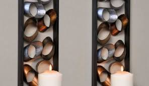 Large Candle Sconces For Wall Wall Large Wall Candle Holders Shelves For Bathroom Howard Miller