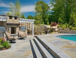 Outdoor Grill And Fireplace Designs - outdoor fireplace pictures gallery landscaping network
