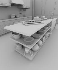 modelisation cuisine blender 4d modélisation d une cuisine dans blender 2 5