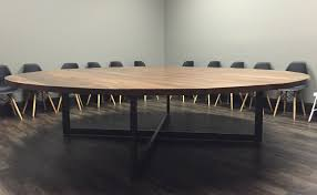 Industrial Pedestal Table Braylon Pedestal Table Modern Industrial Office Desk Atlanta