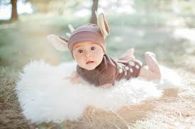 Potato Sack Creative Baby Halloween Baby Costume Baby Deer Costume Fawn Thewishingelephant Etsy