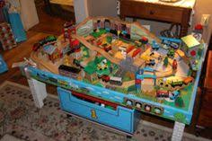 thomas the train activity table and chairs wooden train table set asda http dinhtrieu info pinterest