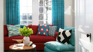 bright turquoise and red interior design ideas youtube