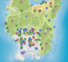 Gta World Map Gta 5 Raises The Bar For Open World Gameplay Fextralife