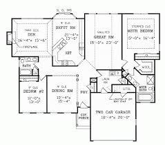 ranch floor plans with split bedrooms ranch house plans with split bedrooms www cintronbeveragegroup