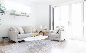Living Room Pretty Home Interior Design Ideas Living Room In - White interior design ideas