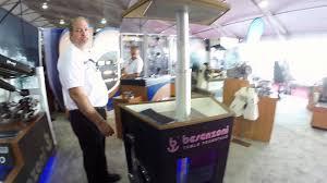 Telescoping Table Besenzoni T 602 Telescoping Table Pedestal Mabru Marine Youtube