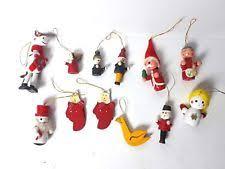 wooden ornaments 1946 1990 ebay
