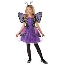 Halloween Costumes 6 Olds Totally Ghoul Girls Purple Sparkle Butterfly Halloween Costume