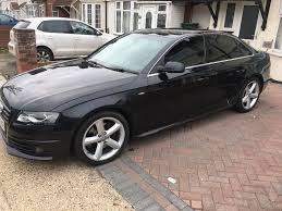 audi a4 s line 2009 executive diesel manual black in heathrow
