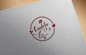 romantic vintage shabby chic logo for fashion and jewelry shop