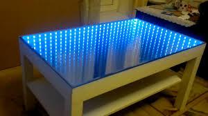 Led Wohnzimmer Youtube Moderner Couchtisch Mit 3d Led Beleuchtung Einrichtungsideen