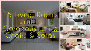 15 gorgeous white living room furniture sets